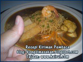 Resepi Yee Mee Basah Special